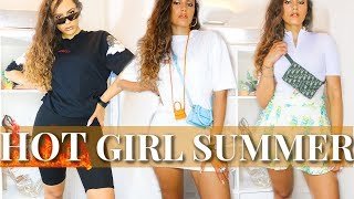 5 HOT GIRL SUMMER outfits (mid/luxury summer looks 2019) STRAIGHT FIRE