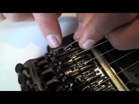 Restringing a Floyd Rose Guitar