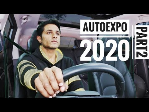 I Drive MG ZS EV In Auto-Expo 2020 | Electric Bus & Ac Truck Vlog Part 2