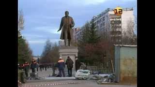 Новый памятник в Йошкар-Оле