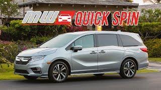 Quick Spin: 2018 Honda Odyssey