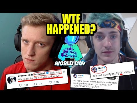 Tfue & Ninja INCHES From Making The World Cup... But DENIED By FaZe Dubs!
