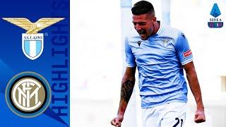 Lazio 1-1 Inter | Milinkovic risponde a Lautaro | Serie A TIM