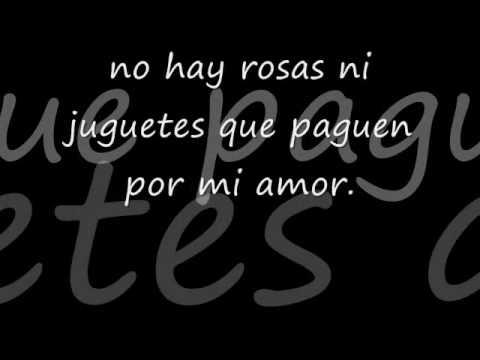 Paulina Rubio -  Ni rosas ni juguetes [letra]