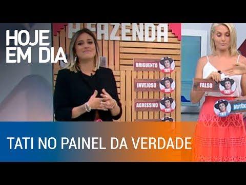 """Tati Dias diz o que pensa dos outros peões no """"Painel da Verdade"""" thumbnail"""