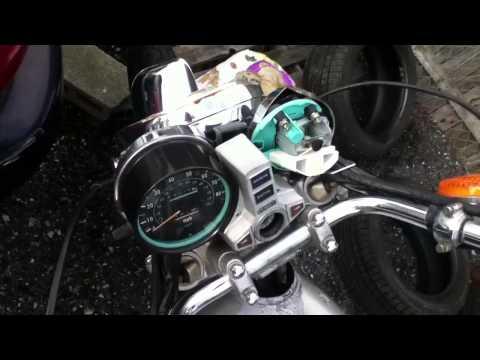 81 Kawasaki KZ750LTD post deer hit