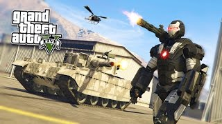 GTA 5 PC Mods - WAR MACHINE Iron Man Mod!!! GTA 5 War Machine Mod Gameplay! (GTA 5 Mods Gameplay)