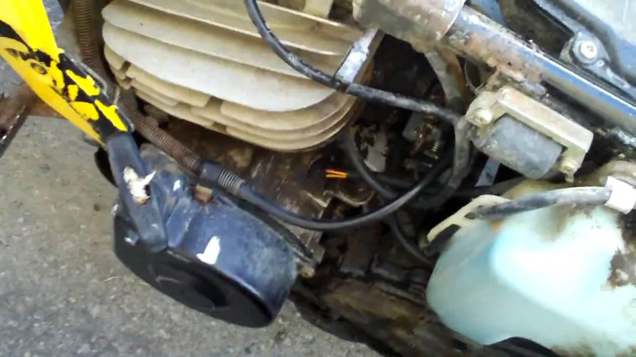 medium resolution of yamaha tri moto problems youtube rh youtube com yamaha dx 225 carburetor yamaha 225 dx 3 wheeler