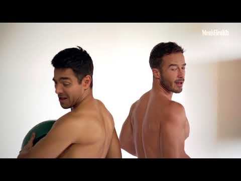 Omar Chaparro y Ryan Carnes men's health mexico