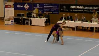 Sachsenpokal 2016   163   055   Mixed Pair   Age Group   Dynamic   EST   Akrobaatika Kool EST, Karl