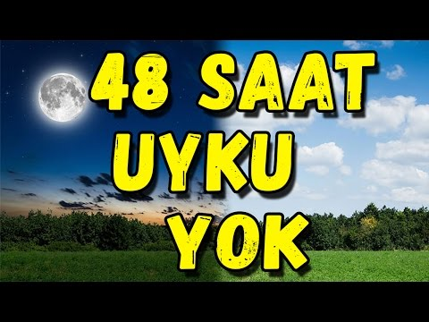 48 SAAT UYKU YOK ! - ( bisiklet, yeni ev, fail içerir )