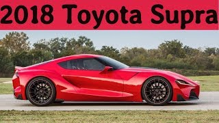 2018 Toyota Supra Review, Design, Engine, Price And Release Date