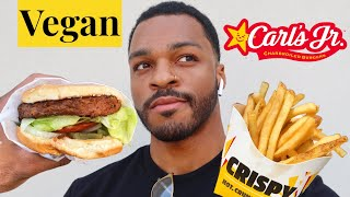 Carl's Jr Has A Vegan Burger!