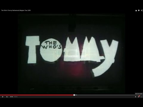 The Who's Tommy  Netherlands Belgium Tour 2005