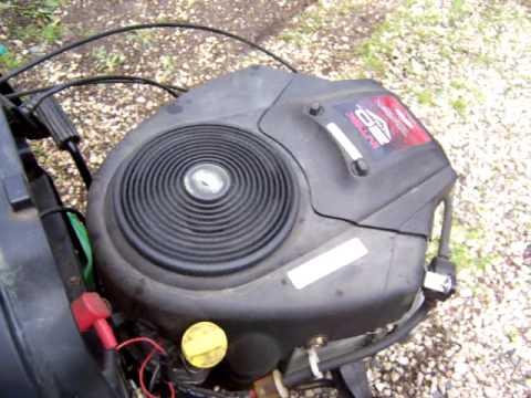 Briggs 20 Hp Intek Twin Engine You