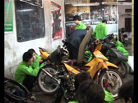 Nghề xe máy - Trung Tâm Dạy Nghề Thanh Xuân