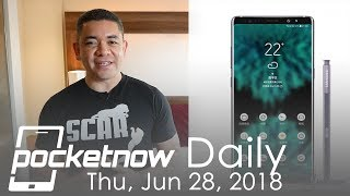 Samsung Galaxy Note 9 Unpacked, iPhone X lower prices & more - Pocketnow Daily