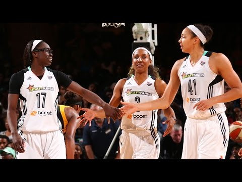 New York Liberty 2015 Defensive Highlights