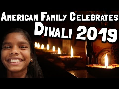 American Family Celebrates Diwali For The First Time In 2019 // Cadie's First Diwali Or Kali Puja???