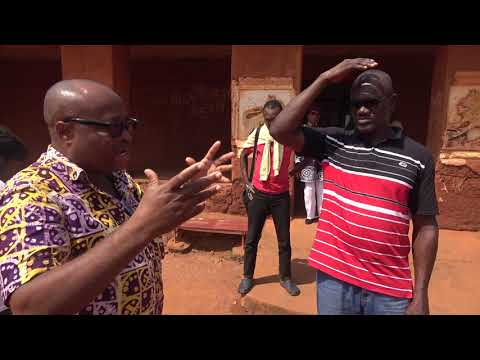 History of the Kingdom of Dahomey in Abomey Benin - Roots Tour Nov 2017