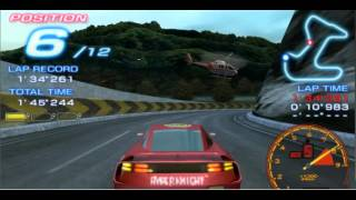 ridge racers2 game balap mobil dgn ppsspp di pcandroid