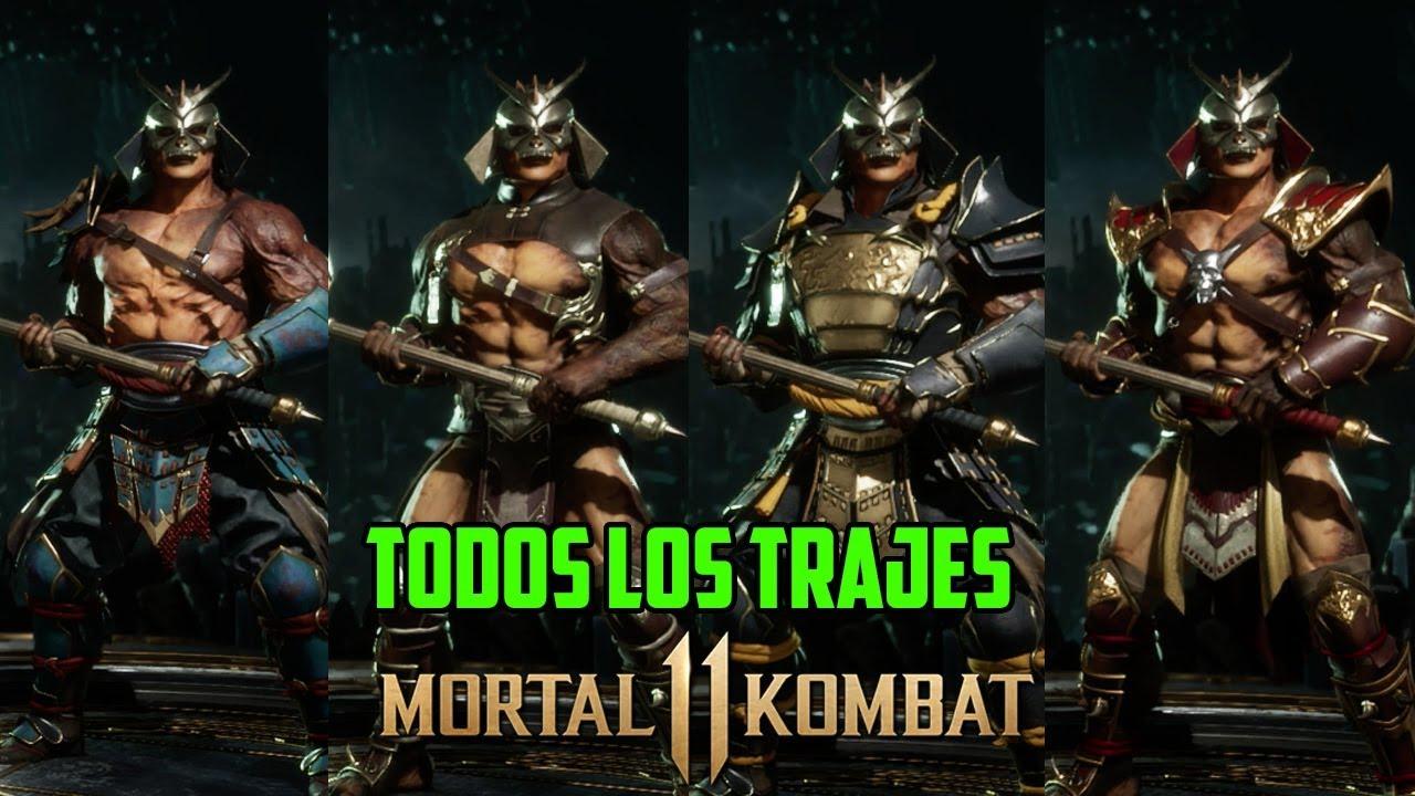 Mortal Kombat 11 | Shao Kahn | Todos los Trajes, Intros y Poses |