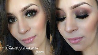 Holiday makeup l Thanksgiving tutorial Thumbnail