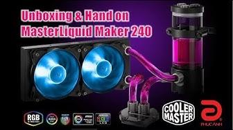 Master Liquid Maker 240 : Bộ tản nhiệt Custom đầu tiên của Cooler Master