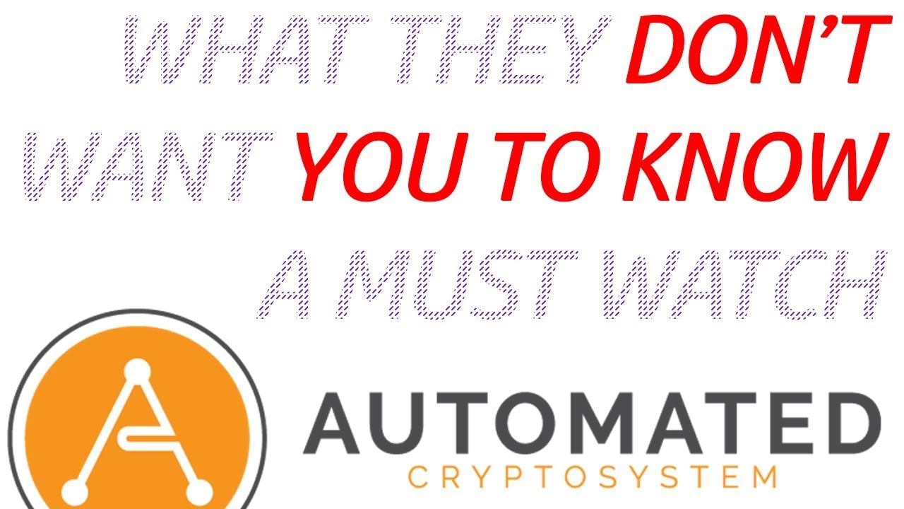 automated trading system cryptocurrency