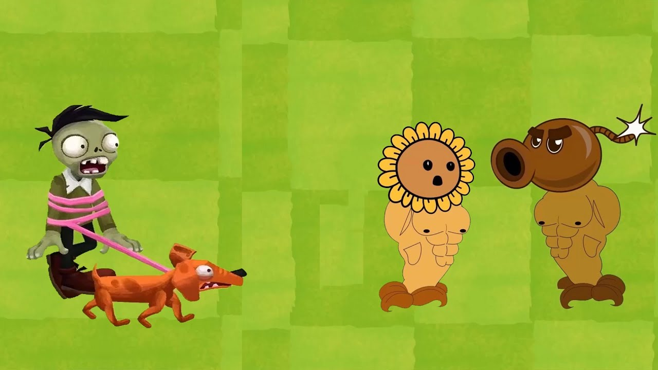 Plants vs zombies 2 Cartoon (Animation) : Peashoter Coconut  vs Zombie PvZ 3