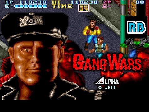 1989 [60fps] Gang Wars Mike ALL - 동영상