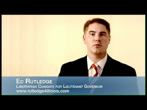 Ed Rutledge Libertarian Candidate for Illinois Lieutenant Governor