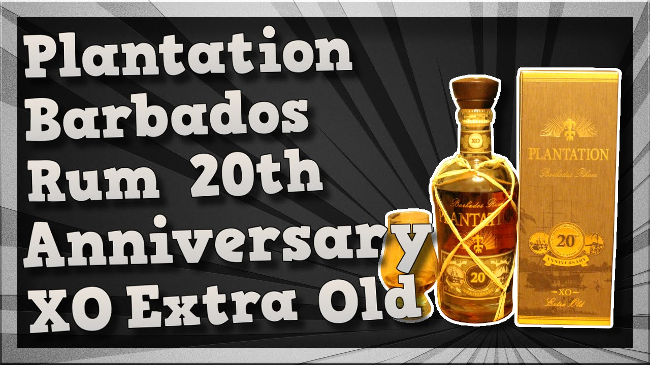 TMOH - Alco Review 18#: Plantation Barbados Rum 20th ...