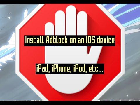 Install AdBlock on IOS / IPAD