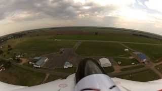f 27q stryker with a go pro camera kinsley airport