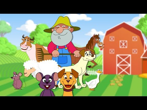 Old Macdonald Had A Farm | Nursery Rhyme For Kids
