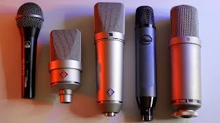 Best Vocal Microphones 2019   My Microphone Collection