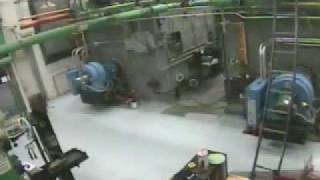 Boiler Explosion Surveillance Video