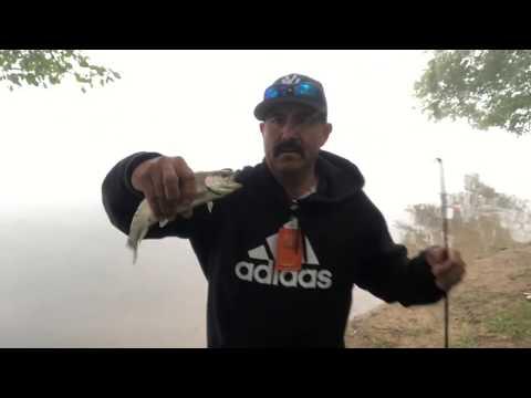 Pescando 🎣truchas🐟  En Lake Gregory