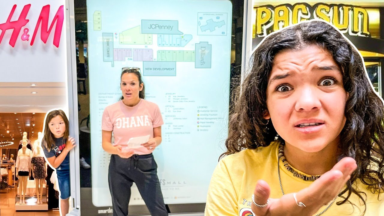 Don't Get LOST in the MALL! Scavenger Hunt gone WILD!