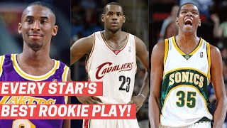 Every NBA Star's Best Play As A Rookie!