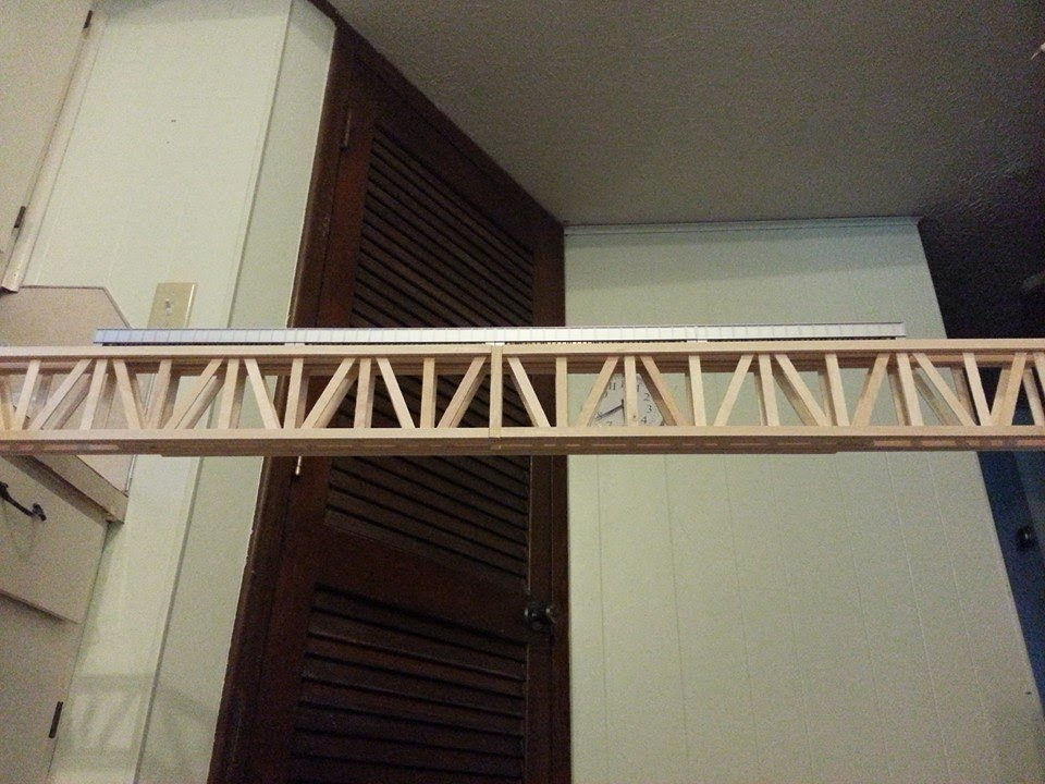 How To Make The Popsicle Railroad Bridge Part 1 Youtube