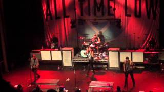 """""""The Irony Of Choking On A Lifesaver"""" by All Time Low (LIVE)"""