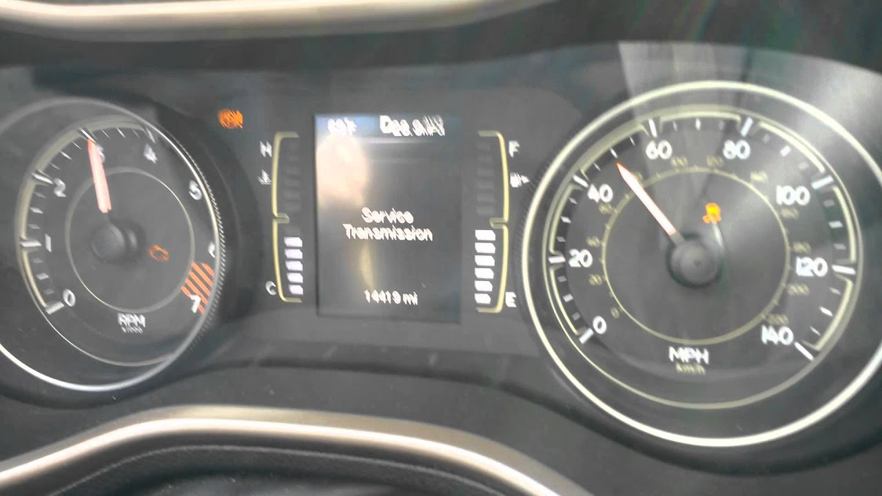 2014 Jeep Cherokee Transmission Problems Part 4