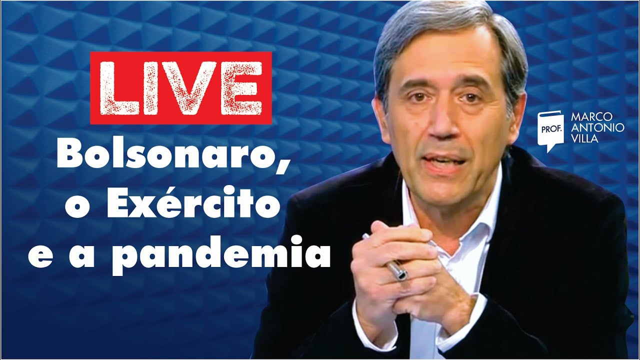 Live: Bolsonaro, o Exército e a pandemia 13/07/20