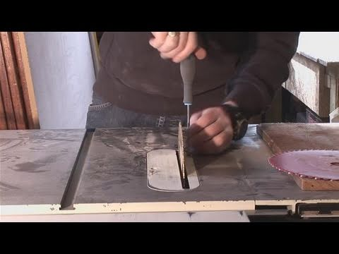 How to remove and replace table saw blades youtube how to remove and replace table saw blades greentooth Gallery
