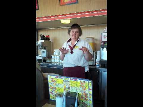 Special Lady At the Waffle House
