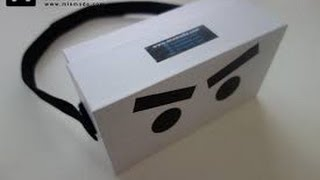 iPhone BOX INTO VITRUAL REALITY HEADSET