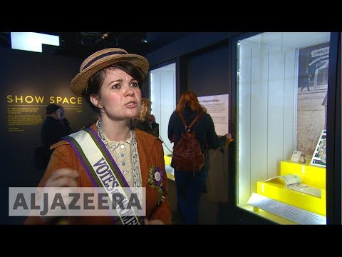 🇬🇧 Museum of London marks 100 years of women's suffrage