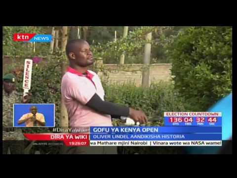 Mashindano ya Gofu ya Kenya open yameingia siku yake yapili mjini Nairobi